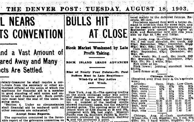 Bulls Hit At Close
