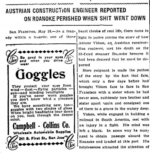 """Austrian Construction Engineer Reported on Roanoake Perished When Shit Went Down"
