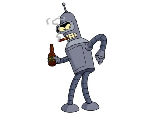 futurama-bender-smoking-cigar-wallpaper