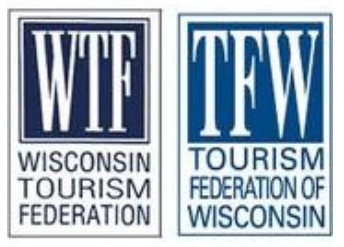wisconsin tourism federation - tourism federation of wisconsin - logo before and after