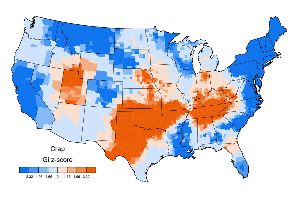 Mapping The United Swears Of America Strong Language