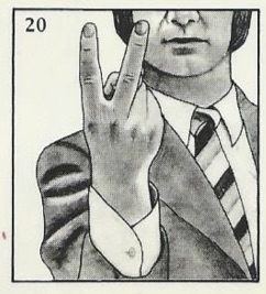 Image result for two finger gesture