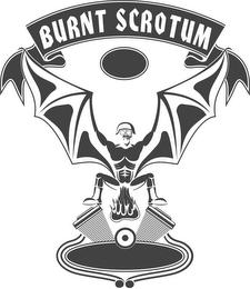 burnt scrotum