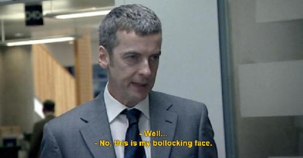 malcolm tucker bollocking face