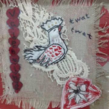 profanity embroidery twat