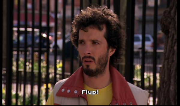 Flight of the Conchords 1 - Jemaine Clement flup euphemism
