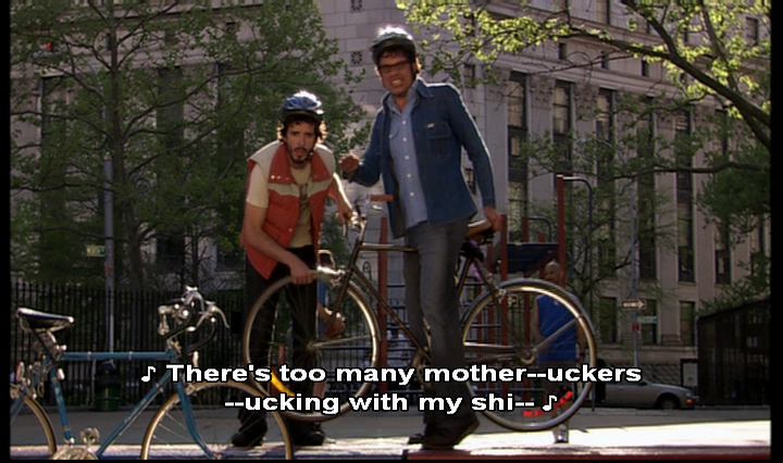 Flight Of The Conchords Uckin With My Shi Strong Language