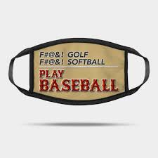 fuck golf play baseball